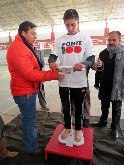 Ceremonia de entrega de equipos Ponte al 100 a la Asociación Mexicana de Jóvenes Cristianos YMCA